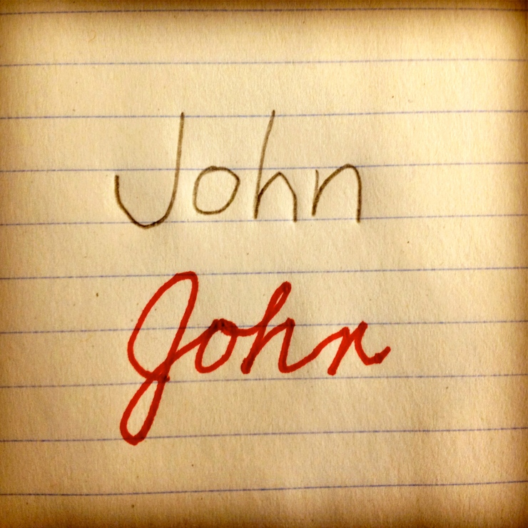 john print/cursive